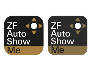 「ZF AutoShowMe」。iOS版、Android版ともに無料。条件/iOS6.0以上。Android4.0.3以上。詳細はiTunesおよびGoogle playで確認を