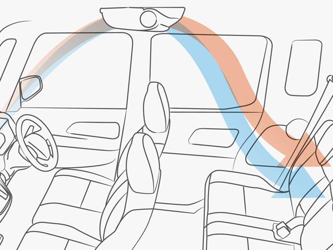 車内全体の空気を循環させる「リアサーキュレーター」が装備され、後席の快適性が向上。またワンタッチ電動スライドドアや99%UVカットガラスの採用などによって、利便性も高められている