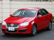 VW ジェッタ フロント ニューモデル試乗