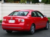 VW ジェッタ リア ニューモデル試乗