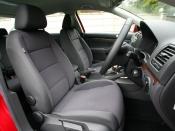VW ジェッタ フロントシート ニューモデル試乗