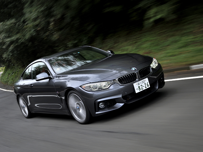 BMW 4シリーズ クーぺ|ニューモデル試乗