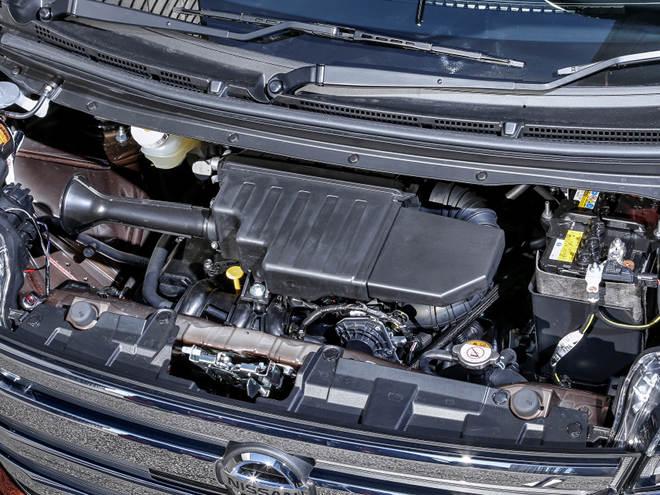 エンジンは、デイズと同様の660ccのNA(写真)とターボ。いずれも高い環境性能を実現し、免税・減税対象となっている