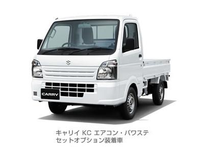 キャリイ KC エアコン・パワステ セットオプション装着車