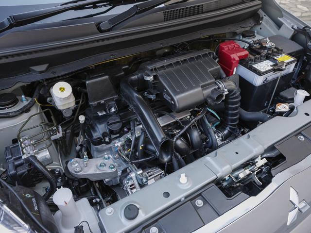 ▲今回搭載した1.2Lエンジン。燃費はJC08モードで25.0km/Lを記録