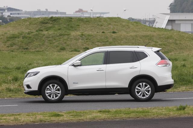 ▲エクステリアはガソリン車とあえて差別化していない。リア車体底部にも空気の流れをコントロールする仕掛けがあり、燃費性能と高速安定性を向上させている