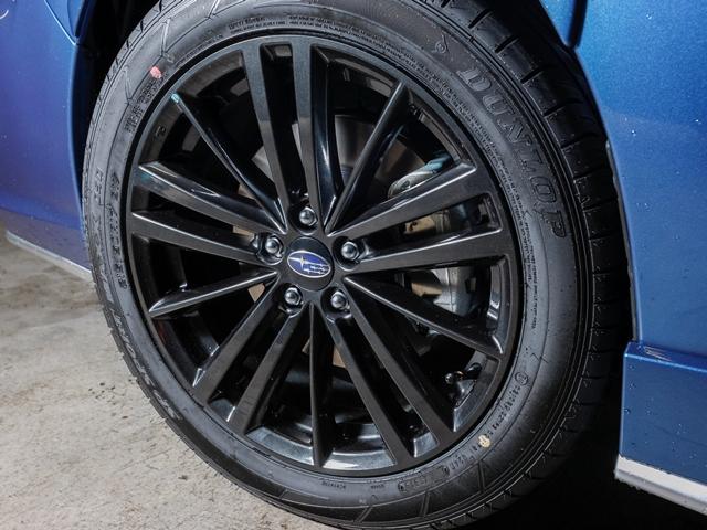 ▲ベース車よりも一回り幅の広いタイヤを装備