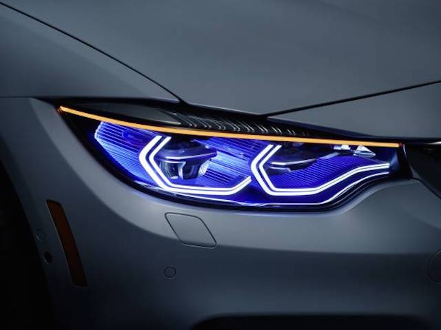 ▲写真はBMW「M4 Concept Iconic Lights」