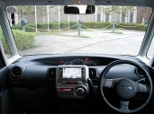 写真:運転席からの眺め