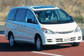 トヨタ エスティマ フロントスタイル ニューモデル試乗