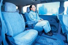 トヨタ エスティマ 後部座席 ニューモデル試乗
