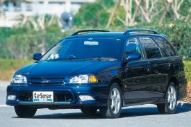 トヨタ カルディナのフロントスタイル|ニューモデル試乗
