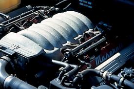 マセラティ 3200GT(4AT)のエンジン|ニューモデル試乗