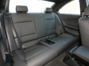 BMW 1シリーズ クーペ リアシート|ニューモデル試乗