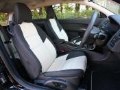 ボルボ C30 フロントシート|ニューモデル試乗