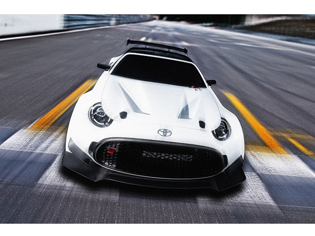▲TOYOTA S-FR Racing Concept