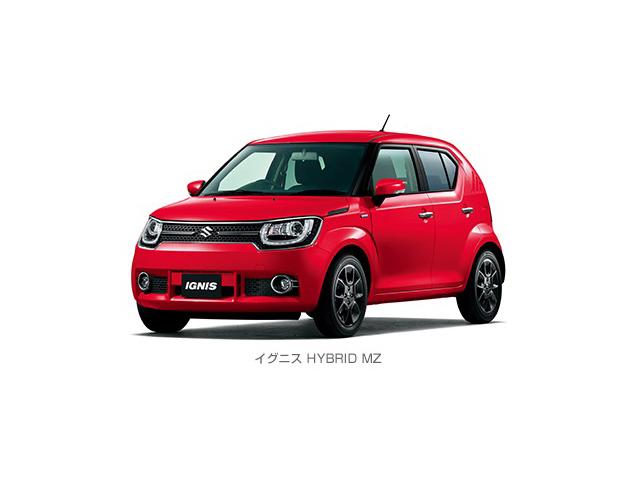 スズキ、コンパクトクロスオーバー 新型小型乗用車「イグニス」を発表