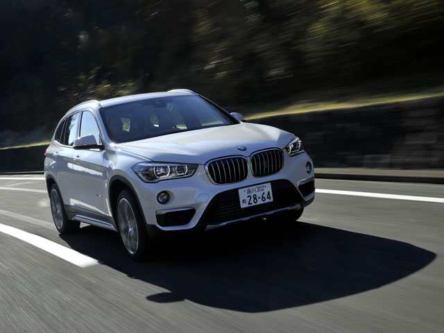 BMW X1 は駆け抜ける喜びをしっかりと感じ取れるSAVである