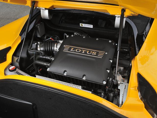 ▲スーパーチャージャー強化や新インタークーラーなどにより出力向上。マウントも5.6kg軽量化