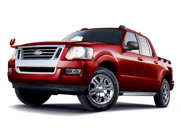 フォード エクスプローラースポーツトラック V8 リミテッド|ニューモデル速報
