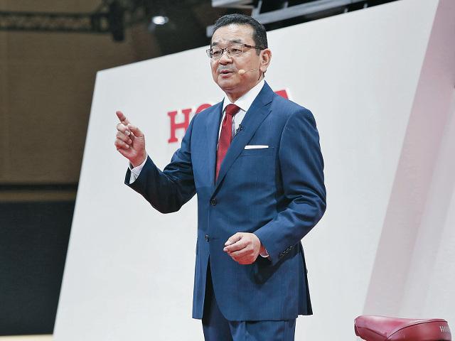 ▲2015年6月にホンダの社長に就任した、八郷隆弘氏。1982年に入社し、鈴鹿製作所長やホンダR&Dヨーロッパの取締役社長、中国生産統括責任者などを経て社長となった