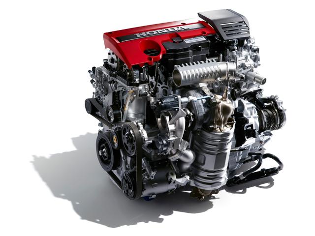 ▲直噴2.0L VTEC TURBOエンジン