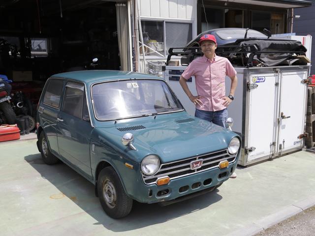 ▲1967年にデビューしたN360は、わずか1年半で累計生産台数が30万台に達した大ヒットモデル。日本初のサンルーフ搭載車でもあります