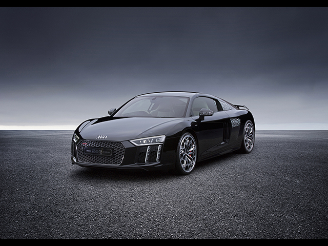 ▲New Audi R8 × 「KINGSGLAIVE FINAL FANTASY XV」