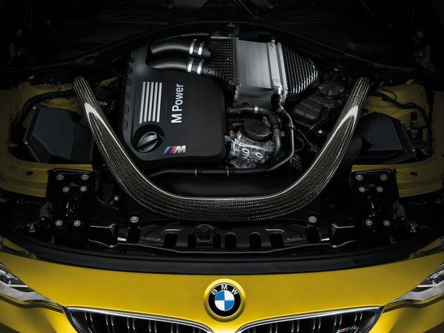 ▲過給エンジンとしては異例の7300rpmで、最高出力431psを発生させる3L直6ツインターボ
