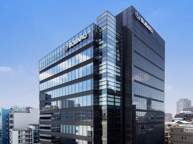 ▲2014年に恵比寿に移転した富士重工業(株)の本社。1階にショールーム、地下に修理工場が併設された近代的な作りは、今のスバルを象徴とさせる