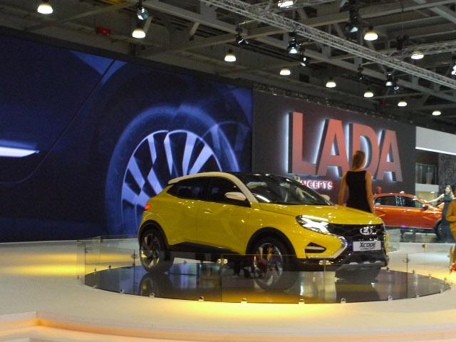▲今回のモスクワショーでパーソナルカー部門の主役となった、ラーダブース。ショーの花形、コンセプトモデルから実用車までを紹介していく