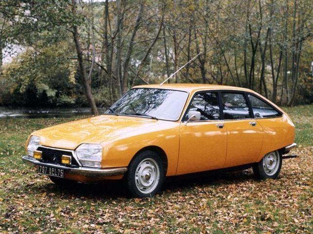 ▲写真は70年代から80年代にかけて活躍したシトロエ ンGS。おしゃれと言われればおしゃれだが、よくわからないと言われればわからない造形。そして1.2L程度の非力なエンジンという、典型的フランス車の一つ