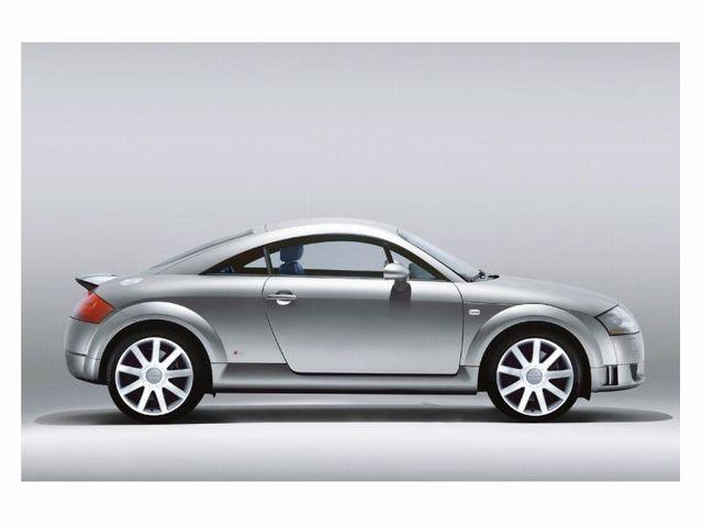 ▲自動車デザイン界の金字塔といっても過言ではない初代アウディ TT。それが今、比較的低走行な物件でも車両価格100万円以下で十分狙えること、知ってました?