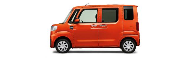 ▲写真を撮り忘れてしまったが、今回試乗したのはこのオレンジ色のハイゼットキャディー。色は派手だが、基本的には商用車なので地味な車だ