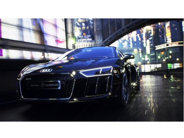 ▲The Audi R8 Star of Lucis