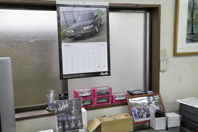 ▲お店が毎年制作するカレンダーはファンの間で大人気! 出てくる車はすべてお客さんたちの愛車。自分の車がカレンダーになるなんて嬉しいですよね
