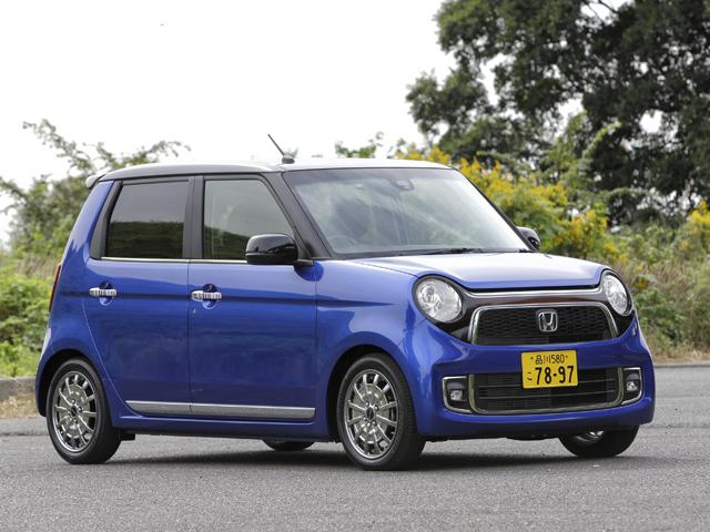 ▲今回からはN-ONE生活に突入。写真の青いN-ONEに乗ったのだが、普通のN-ONEとところどころ違うのに気づいただろうか……?