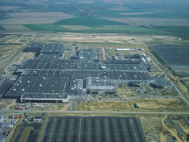 ▲欧州向けヤリス(ヴィッツ)を手がけているトヨタ・モーター・マニュファクチャリング・フランス(TMMF)は2001年1月から稼働している工場だ
