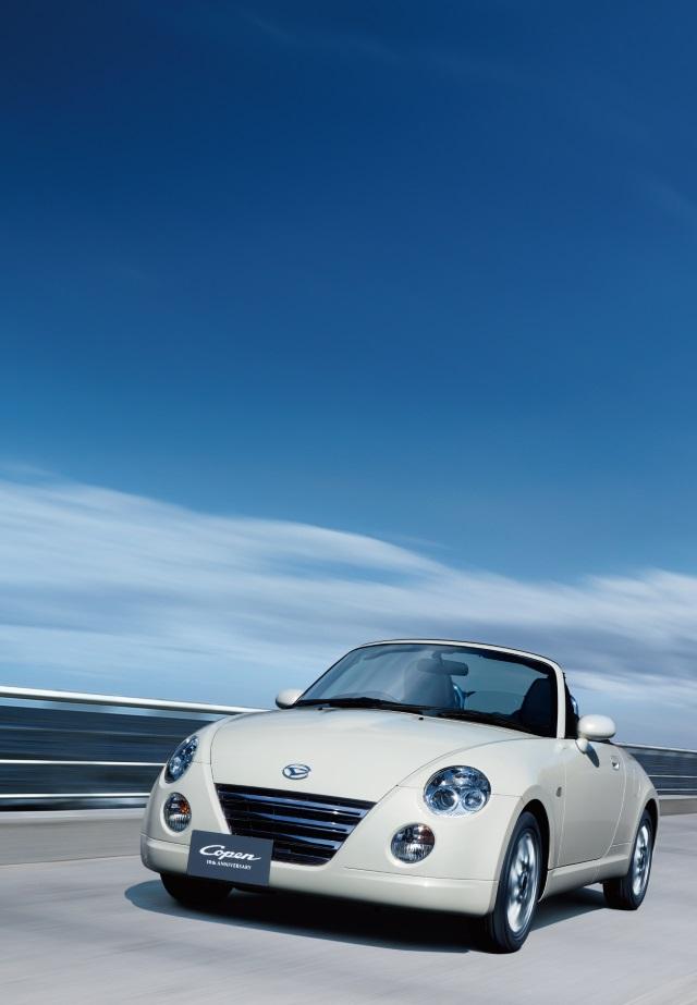 ▲オープン走行が楽しめて走りもいい、なんとも贅沢な車です