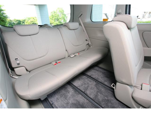 ▲シートも多彩にアレンジ可能。2列目シートは700mm以上もスライドするなど、広さに関してはクラストップです