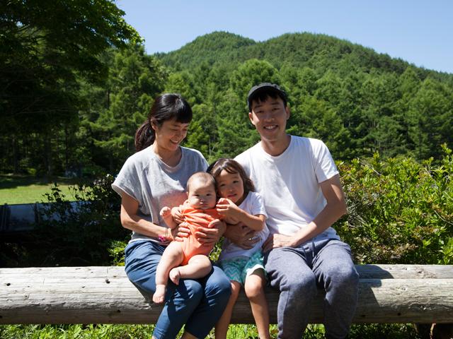 ▲公園やキャンプなど、アウトドアで遊ぶことが多い稲葉家。富士山や、軽井沢までの長距離移動もなんのその。旦那さんの地元・愛知県への帰省にも活躍している