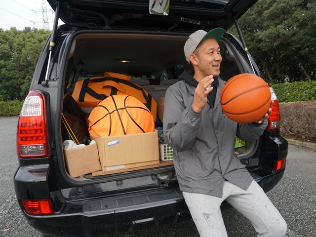 ▲「ミニバス(小学生のバスケットボール)チームのことが何よりも最優先。今までもこれからも、生活の中心はバスケです」と、バスケ愛に溢れる「コーチM」さん