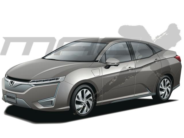 ▲ホンダは、より将来を見据えたEVの開発を進行中。2020年にリリースされる計画で、このタイミングでホンダは手持ちのシャーシを一新して、エンジン車とEVで共用する考えだ