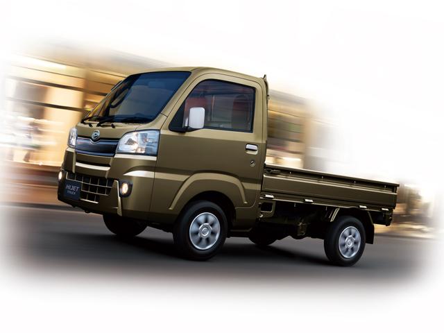 ▲どれも同じように見える軽トラックですが、実は各メーカーの個性が注ぎこまれています