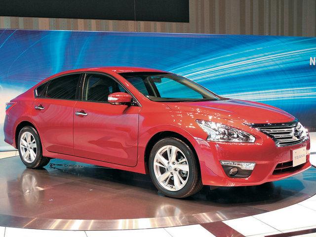 ▲北米向けのアルティマと統合され、中国マーケットを重視して現地で先に発表および発売された現行ティアナ。国内モデルは直4モデルに集約され、4WDも姿を消した