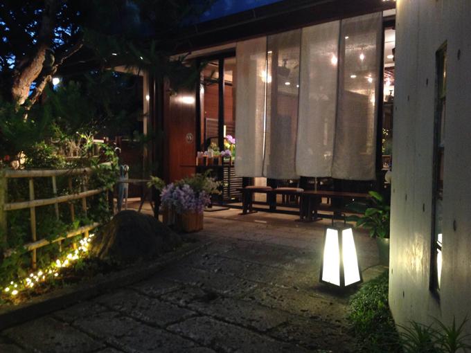 ▲夜の雰囲気もまた素敵!