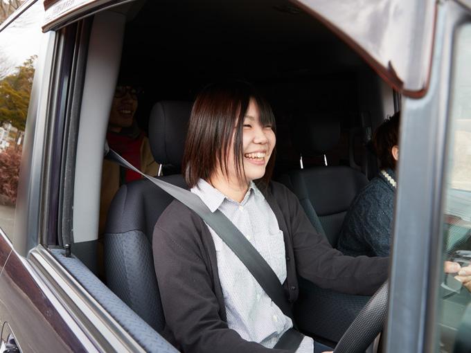 ▲前向きで行動力に溢れた小田さん。笑顔がキュートだ