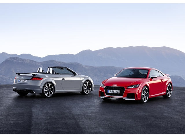 ▲新型Audi TT RS Coupe / TT RS Roadsterを発売