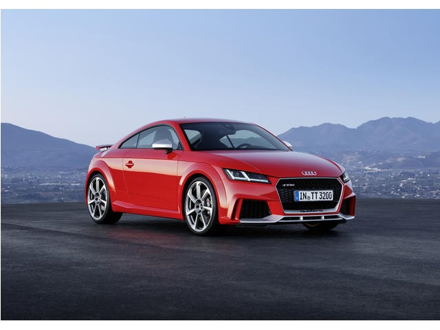 ▲新型Audi TT RS Coupe