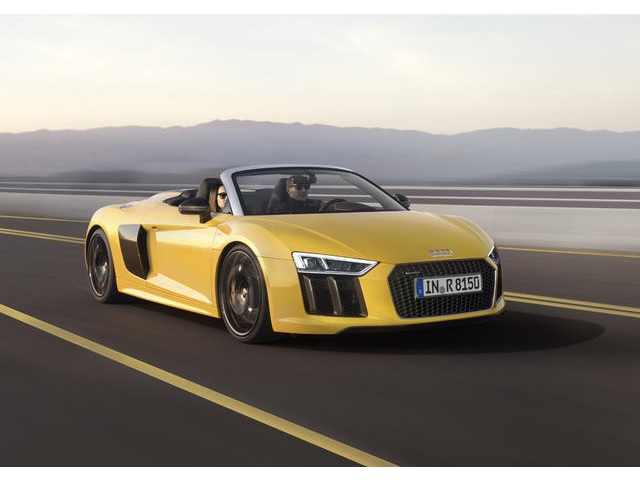 ▲新型Audi R8 Spyder
